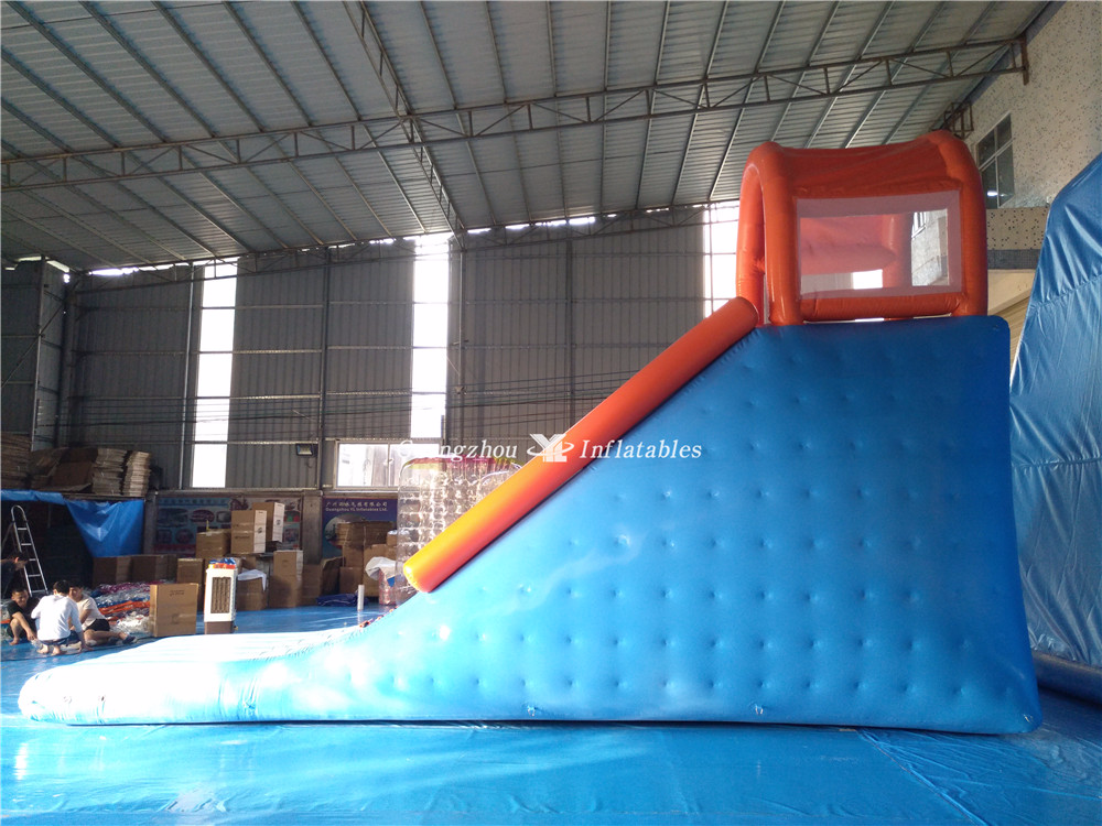 Water Game Toy Inflatable Water Sports Small Climbing Slide For Swimming Pool