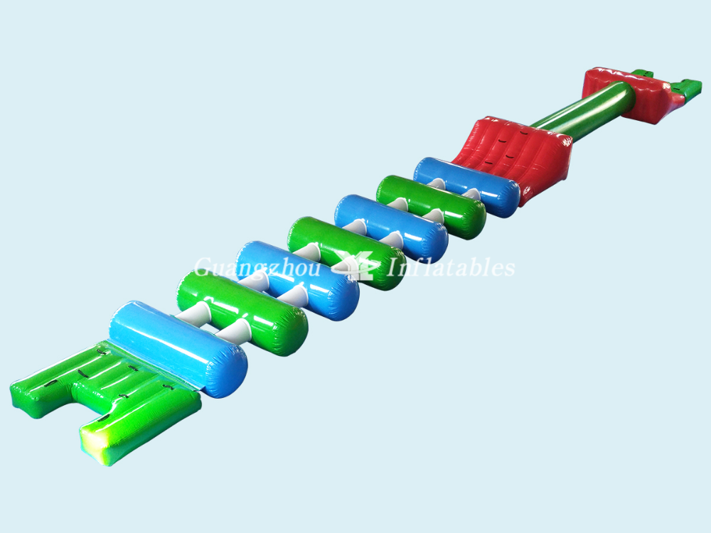 inflatable water obstacle park game