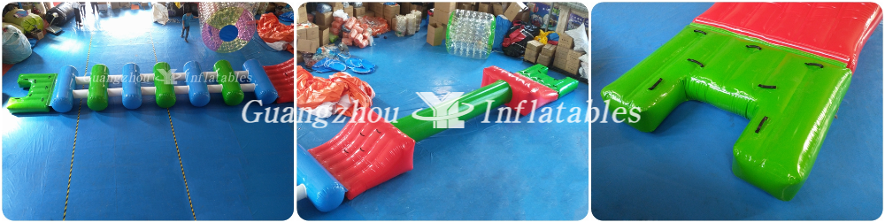 Inflatable Obstacle Course for Water Park