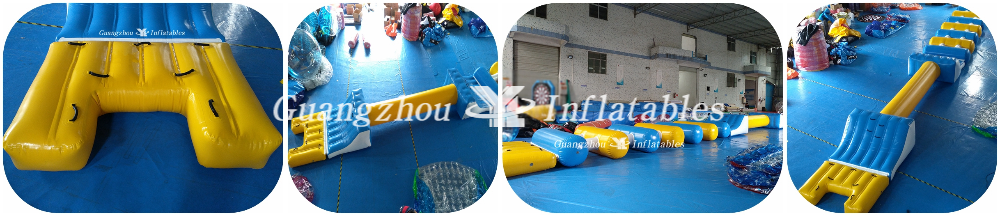 Inflatable Water Obstacle Games for Pool