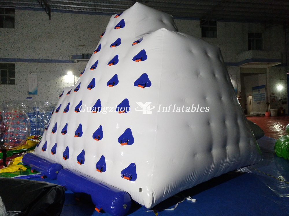 Inflatable Iceberg Game Water Climbing Wall