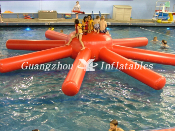 Inflatable Octopus for Water Games