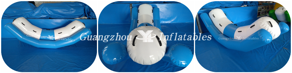 Wholesale Children Inflatable Water Pool Toy Totter Inflatable Water Seesaw