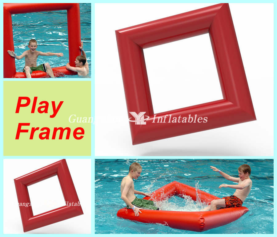 The Pool Play Frame Inflatable