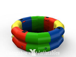 Inflatable Gym Fitness Wheel Games