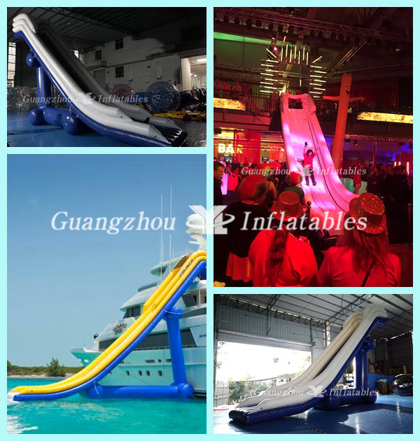 Giant Inflatable Water Slides for Yacht