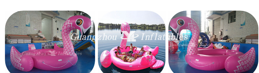 Pink Floating Flaming Game for Swimmingpool